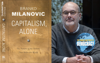 Branko Milanovic and book cover